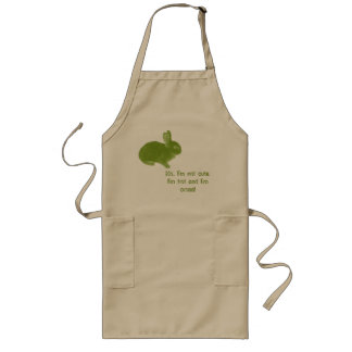 Hot Cross Bunny for Easter Apron