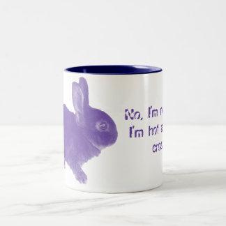 Hot Cross Bunny for Easter Coffee Mug
