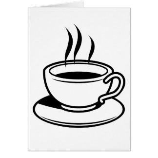 Hot Cup of Coffee Card