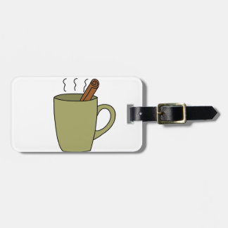 HOT CUP OF TEA LUGGAGE TAG