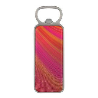 Hot curves magnetic bottle opener