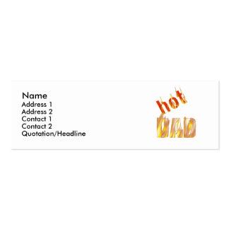Hot Dad - Skinny Mini Business Card
