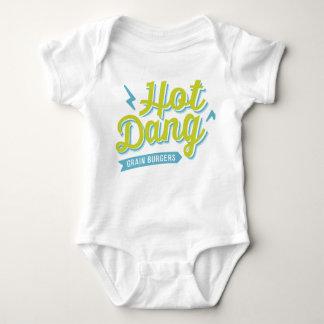 Hot Dang T for Littles Baby Bodysuit