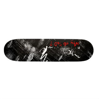 "Hot deck ""why so sad?"" skate boards"
