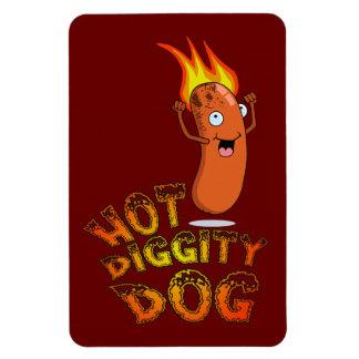 Hot Diggity Dog Premium Flexi Magnet