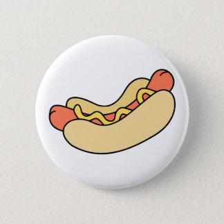 Hot Dog 2 Inch Round Button