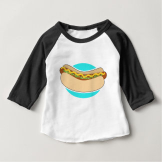 Hot Dog and Relish Baby T-Shirt