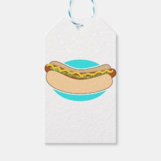 Hot Dog and Relish Gift Tags