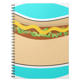 Hot Dog and Relish Note Book