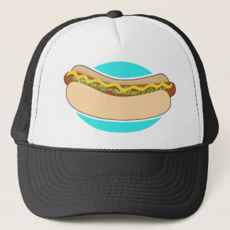 Hot Dog and Relish Trucker Hat