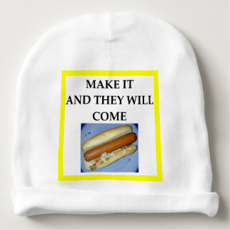 hot dog baby beanie