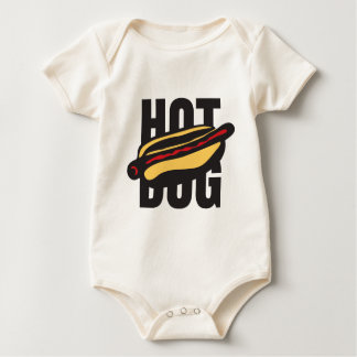 hot dog 🌭 baby bodysuit