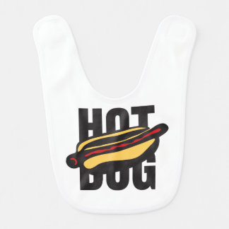 hot dog 🌭 bib