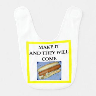 hot dog bibs