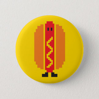 Hot-dog Button - Yellow