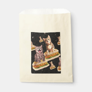 hot dog cat invasion favour bag