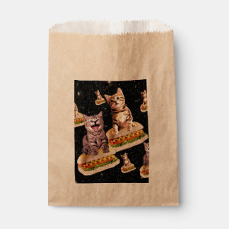 hot dog cat invasion favour bag