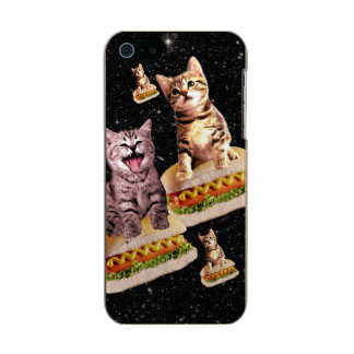 hot dog cat invasion incipio feather® shine iPhone 5 case