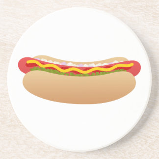 Hot Dog Coaster