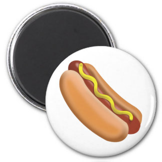 Hot Dog Emoji Magnet