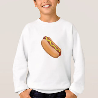 Hot Dog Emoji Sweatshirt
