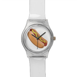Hot Dog Emoji Watch