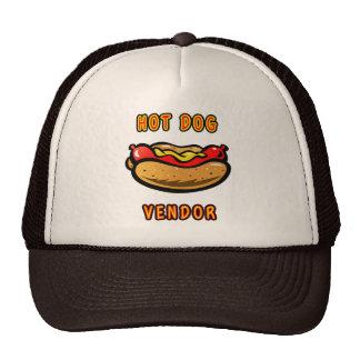 Hot Dog Food Truck Vendors Hat