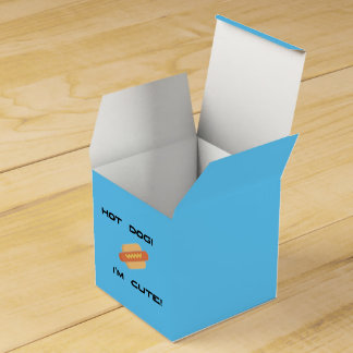 Hot Dog I'm Cute Favor Box