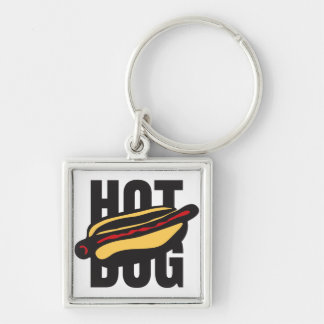 hot dog 🌭 keychain