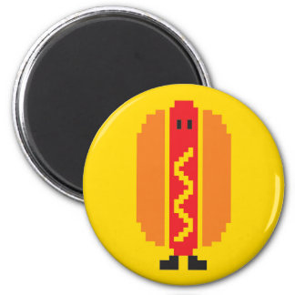 Hot-dog Magnet - Yellow
