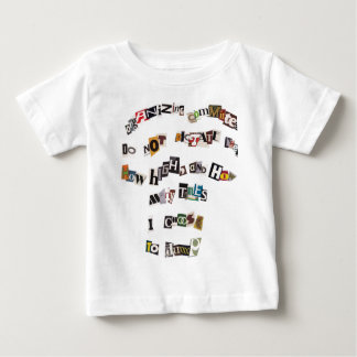 Hot Dog Manifesto Baby T-Shirt