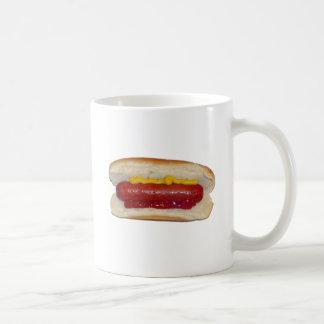 Hot Dog Basic White Mug