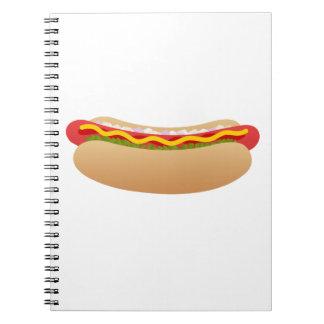 Hot Dog notebook