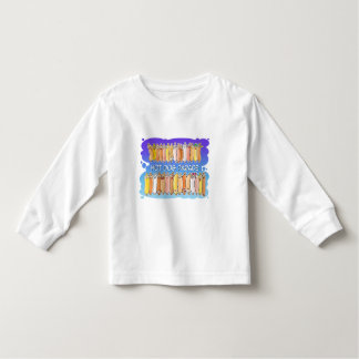 Hot Dog Parade with blue background Toddler T-shirt