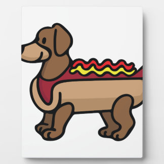 Hot Dog Plaque