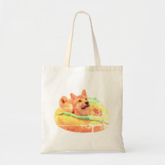 Hot Dog Shiba Tote
