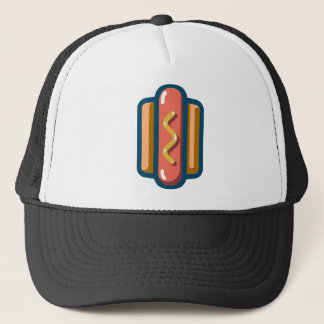 Hot Dog Trucker Hat