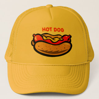 Hot Dog Trucker Hat by Mini Brothers