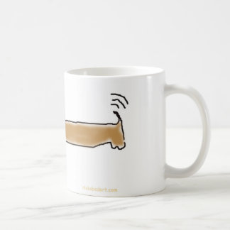 Hot Dog w/ hot dog Coffee Mug