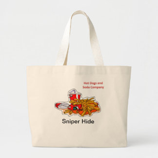 Hot Dogs and Soda Company Jumbo Tote Bag