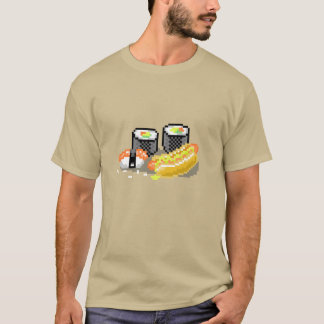 Hot Dogs and Sushi T-Shirt