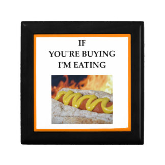 hot dogs gift box