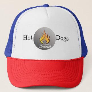 Hot Dogs grill Trucker cap