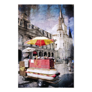 Hot Dogs in the Vieux Carre Photo Print