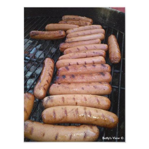 Hot Dogs Photo Art