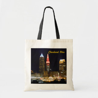 Hot DownTown Cleveland Ohio Tote Bag