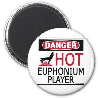Hot Euphonium Player Magnet