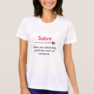 Hot Fencer Of The Day - Sabre T-Shirt