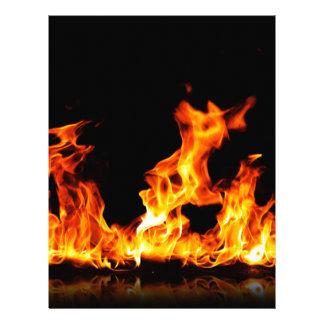 hot fire letterhead