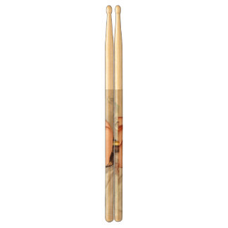 Hot Firefighter Pinup Girl Drumsticks